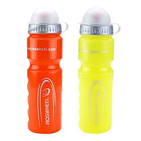 ROSWHEEL 700ML Extruded Plastic Sport Bottle with Dustproof Cover 51400