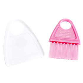 Kitchen Cleaning Mini Dustpan and Broom with Magnet (Random Color)