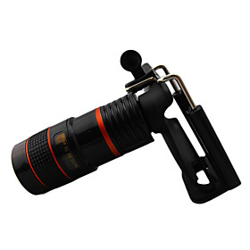 8 1.1 Universal Portable Mobile Phone Telescope with Stand