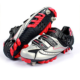 Santic Professional Cycling Shoes with Strong Fiber Nylon Sole and Breathable Synthetic Microfiber Upper ST12803