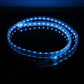 Waterproof 5050 SMD RGB Light 8-Flashing-Mode LED Strip Lamp (220V, Length Selectable)