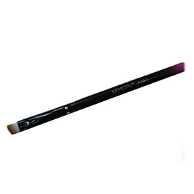 1PCS Brow Brush Artificial Fibre Brush Gradual Rose Handle
