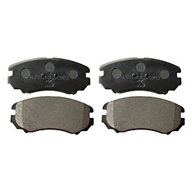 Front Ceramic Brake Pad Set for Hyundai Elantra, Hyundai Sonata, Hyundai Tiburon, Hyundai Tucson, Hyundai Azera