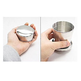 4-lay Stainless Steel Retractable Cup (260ml)