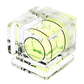 Hot Shoe One Axis Bubble Spirit Level for DSLR/SLR Cameras