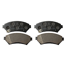 Front Ceramic Brake Pad Set for Buick LaCrosse, Buick Terraza, Chevrolet Uplander