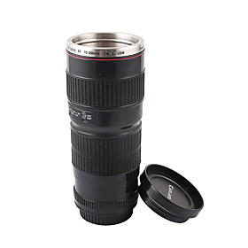 Novelty Simulation Canon EF 70-200mm Camera Lens Style Mug Cup