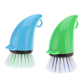 Kitchen Cleaning Pot Wall Cooker Brush (Random Color)