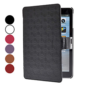 Magnet Design PU Leather Case with Stand for iPad mini
