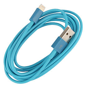 Lightning 8Pin Colorful Charge and Data Cable for iPhone 5,iPad Mini,iPad 4,iPod (200cm-Length)