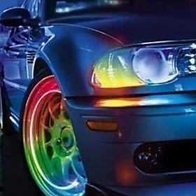 Venda Por Atacado Tira LED para Pneu Azul Brilhante (2 Pças)