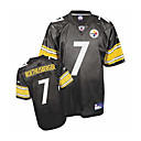 Ben Roethlisberger Pittsburgh Steelers 7 Black NFL Jersey