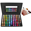 wholesale Free Professional Cosmetic Brush Set + 88 Colors Cosmetics Makeup Matte Eye Shadow Palette