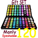 wholesale Professional Manly 120 Colors Eye Shadow Palette(0479-12.17-1)