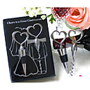 wholesale Two Hearts Wine Favor Set