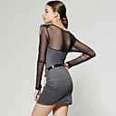 Lightinthebox ES  hombro con cuentas de malla de vestir de manga larga / vestidos de las mujeres (ss-d-ca1271008)