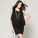 wholesale Sleeveless Loose Fit Hip Dress / Women's Dresses (FF-C-CC1220002)