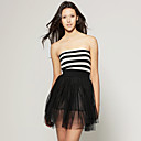 wholesale Stripe Tutu Dress (FF-B-CD2032001)