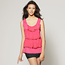 wholesale Beaded Layered Ruffle Blouse / Women's T-shirts (FF-T-CC1317001)
