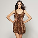 wholesale Leopard Pleat Dress (FF-B-CC2028001)