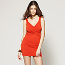 wholesale Cross Knit Jersey Dress (FF-C-CC1220003)