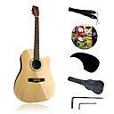 41 Acousitc Guitar Package Plywood-Linden Original-Lacquer