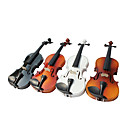 44 Solid Basswood Violin Multi-Color