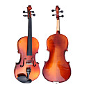 Glossy Solid Spruce Viola with BowRosinSoft Case
