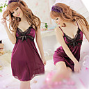 Lace Bow Sexy Sling Nightdress