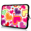 Heart Bubbles Neoprene Laptop Sleeve Case for 1015 iPad MacBook Dell HP Acer Samsung