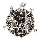 16GB Metal Skull 2 Pendant USB 2.0 Flash Drive