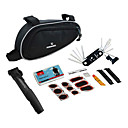 14in1 Folding Stainless Bicycle Repair Set with Tool Bag And Pump 21255