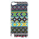 Green Stripe Pattern Protective Hard Case for iPod Touch 5