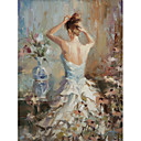 Printed Art People Lady by Steve Henderson