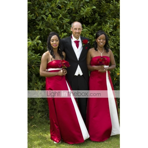 Everyone said how great Burgundy and Ivory looked I was a very happy bride