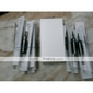 100 Pcs Black Disposable Tattoo Needles and Tubes Grip Supply