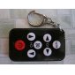 Mini Multifunctional Remote Controller Black