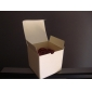 Square Ivory Favor Box With