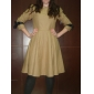 TS Bow Tie Wool Blend Dress