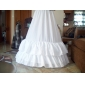 Nylon A-Line Medium Fullness 2 Tier Floor-length Slip Style/ Wedding Petticoats