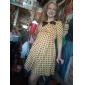 TS VINTAGE Polka Dot Jersey Dress(Exclude Belt)
