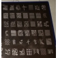 221 Designs Nail Art Stamp Image Plate/Big Nail Art Templates/Nail Stencils