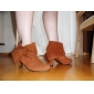 Suede Upper Chunky Heel Ankle Boots With Bowknot Party/ Evening Shoes More Colors Aavailable