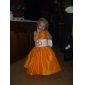 A-line Floor-length Taffeta Flower Girl Dress