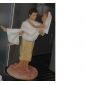 Just Married Beach Couple Figurine