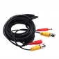 30 Meters (or 98 Feet) BNC Video and Power 12V DC Integrated Cable