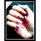 3D Bowknot Style Resinic Diamonds Nail Art Nail Decorations Suit