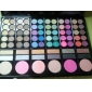 WALES 78 Colors Eyeshadow Lip Gloss Blusher Combine Palette #2