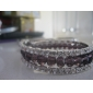 Ladies' Multi-layered Crystal And Rhinestone Strand Bracelet (More Colors)
