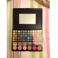 78 Colors Lip Gloss Eye Shadow Blusher Power Plate Set